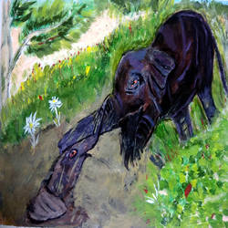 maa  ., 17 x 12 inch, suresh yadav,17x12inch,cartridge paper,paintings,wildlife paintings,nature paintings | scenery paintings,animal paintings,love paintings,elephant paintings,baby paintings,children paintings,kids paintings,paintings for dining room,paintings for living room,paintings for office,paintings for kids room,paintings for hotel,paintings for school,paintings for hospital,acrylic color,GAL02620937929