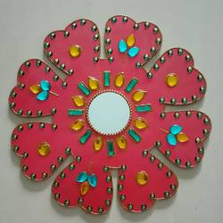 floral wall hanging , 12 x 12 inch, apoorva shirsat,12x12inch,wood board,handicrafts,wall hangings,acrylic color,wood,GAL02646538038