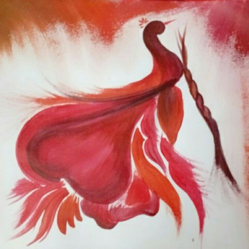 nature, 12 x 8 inch, ayushi mangal,wildlife paintings,paintings for living room,paper,acrylic color,12x8inch,GAL012933811