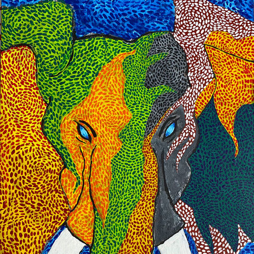 elephant, 40 x 50 inch, karan shah,40x50inch,canvas,paintings,abstract paintings,wildlife paintings,still life paintings,portrait paintings,nature paintings | scenery paintings,animal paintings,paintings for dining room,paintings for living room,paintings for bedroom,paintings for kids room,paintings for hotel,paintings for school,paintings for dining room,paintings for living room,paintings for bedroom,paintings for kids room,paintings for hotel,paintings for school,acrylic color,GAL02652838130