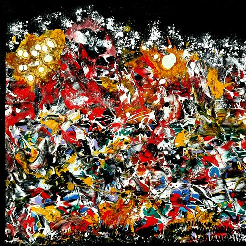 the clash, 24 x 18 inch, musolini rajagopal,24x18inch,canvas,paintings,abstract paintings,acrylic color,GAL01311938201