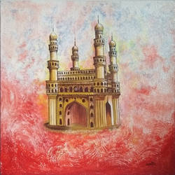 vibrant charminar, 18 x 18 inch, vasantha dasarath,18x18inch,canvas,paintings,cityscape paintings,conceptual paintings,abstract expressionism paintings,contemporary paintings,paintings for dining room,paintings for living room,paintings for bedroom,paintings for office,paintings for kids room,paintings for hotel,paintings for kitchen,paintings for school,paintings for hospital,paintings for dining room,paintings for living room,paintings for bedroom,paintings for office,paintings for kids room,paintings for hotel,paintings for kitchen,paintings for school,paintings for hospital,acrylic color,GAL02659238220