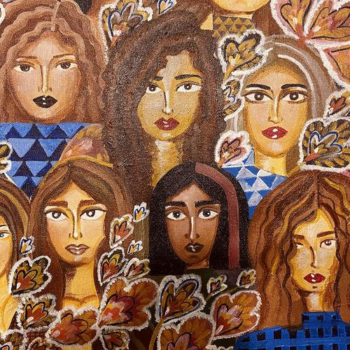 beauty in diversity, 24 x 18 inch, shrishti  tehanguria,24x18inch,canvas,modern art paintings,conceptual paintings,expressionism paintings,portraiture,paintings for dining room,paintings for living room,paintings for bedroom,paintings for office,paintings for bathroom,paintings for kids room,paintings for hotel,paintings for kitchen,paintings for school,paintings for dining room,paintings for living room,paintings for bedroom,paintings for office,paintings for bathroom,paintings for kids room,paintings for hotel,paintings for kitchen,paintings for school,acrylic color,GAL02657238235