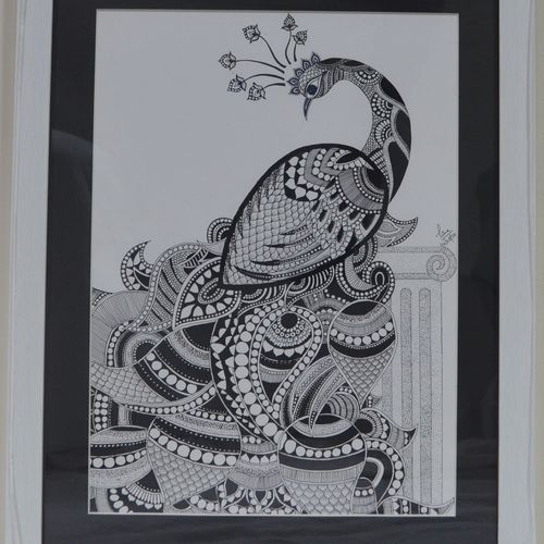 pride, 15 x 20 inch, tina sharma,15x20inch,drawing paper,drawings,art deco drawings,fine art drawings,modern drawings,paintings for dining room,paintings for living room,paintings for school,pen color,paper,GAL02657038294