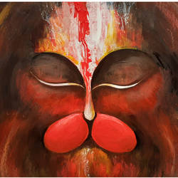 lord hanuman, 12 x 16 inch, rajaram. s,12x16inch,fabriano sheet,paintings,abstract paintings,figurative paintings,religious paintings,paintings for dining room,paintings for living room,paintings for office,paintings for school,paintings for hospital,paintings for dining room,paintings for living room,paintings for office,paintings for school,paintings for hospital,acrylic color,GAL02517038342