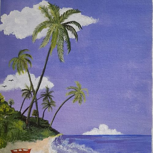 seashore, 12 x 15 inch, vinod shiralkar,12x15inch,canvas board,landscape paintings,paintings for living room,paintings for bedroom,paintings for office,paintings for bathroom,paintings for kids room,paintings for hotel,paintings for hospital,paintings for living room,paintings for bedroom,paintings for office,paintings for bathroom,paintings for kids room,paintings for hotel,paintings for hospital,acrylic color,GAL02676538387