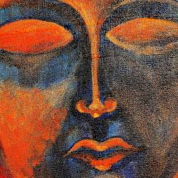 let the inner light leads, 12 x 16 inch, vagad joseph,12x16inch,canvas board,paintings,abstract paintings,buddha paintings,conceptual paintings,paintings for living room,paintings for bedroom,paintings for office,paintings for hotel,paintings for school,paintings for hospital,acrylic color,GAL02685638404