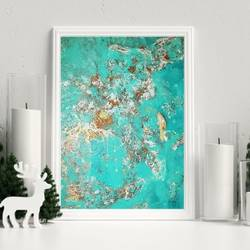 turquoise, 24 x 36 inch, nehha  kandhari,24x36inch,canvas,paintings,abstract paintings,paintings for dining room,paintings for living room,paintings for bedroom,paintings for office,paintings for kids room,paintings for hotel,acrylic color,GAL02653738419