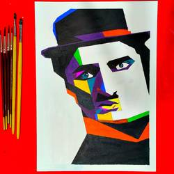 intelligent man, acrylic painting , 21 x 30 inch, pruthiraj baisak,21x30inch,canvas,paintings,figurative paintings,modern art paintings,conceptual paintings,portrait paintings,art deco paintings,expressionism paintings,impressionist paintings,photorealism paintings,photorealism,realism paintings,acrylic color,paper,GAL02663938425