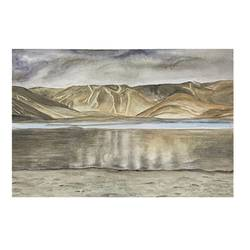 reflection, 12 x 8 inch, vaishali puranik,12x8inch,brustro watercolor paper,paintings,kids paintings,paintings for living room,paintings for hotel,watercolor,GAL02688738495
