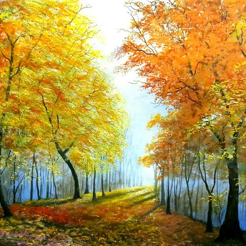 lights of hope, 29 x 20 inch, md moin ,29x20inch,canvas,paintings,landscape paintings,paintings for living room,paintings for bedroom,paintings for office,oil color,GAL01096038507