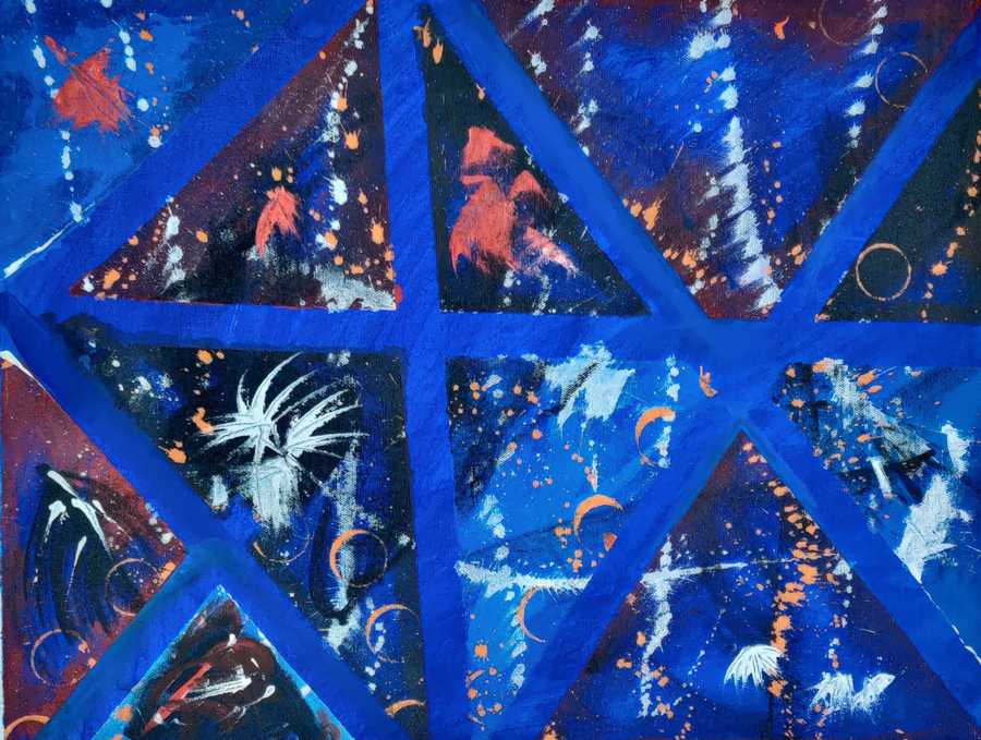 blue eco, 19 x 15 inch, nidhi singh,19x15inch,canvas,paintings,abstract paintings,modern art paintings,conceptual paintings,abstract expressionism paintings,art deco paintings,expressionism paintings,impressionist paintings,pop art paintings,street art,paintings for dining room,paintings for living room,paintings for bedroom,paintings for office,paintings for hotel,paintings for hospital,paintings for dining room,paintings for living room,paintings for bedroom,paintings for office,paintings for hotel,paintings for hospital,acrylic color,GAL02702038537