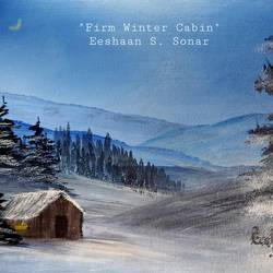 firm winter cabin, 16 x 12 inch, eeshaan sonar,16x12inch,canvas board,landscape paintings,paintings for dining room,paintings for living room,paintings for bedroom,paintings for hotel,paintings for school,paintings for dining room,paintings for living room,paintings for bedroom,paintings for hotel,paintings for school,acrylic color,GAL02722838708