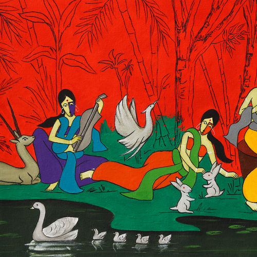 kinship, 24 x 16 inch, chetan katigar,24x16inch,canvas,paintings,abstract paintings,figurative paintings,flower paintings,folk art paintings,cityscape paintings,landscape paintings,modern art paintings,multi piece paintings,religious paintings,still life paintings,portrait paintings,nature paintings | scenery paintings,abstract expressionism paintings,art deco paintings,cubism paintings,dada paintings,expressionism paintings,impressionist paintings,photorealism paintings,photorealism,pop art paintings,portraiture,realism paintings,street art,surrealism paintings,ganesha paintings | lord ganesh paintings,animal paintings,radha krishna paintings,contemporary paintings,realistic paintings,love paintings,horse paintings,elephant paintings,kids paintings,madhubani paintings | madhubani art,warli paintings,lord shiva paintings,phad painting,kalamkari painting,miniature painting.,gond painting.,kerala murals painting,serigraph paintings,paintings for dining room,paintings for living room,paintings for bedroom,paintings for office,paintings for bathroom,paintings for kids room,paintings for hotel,paintings for kitchen,paintings for school,paintings for hospital,acrylic color,GAL026638713