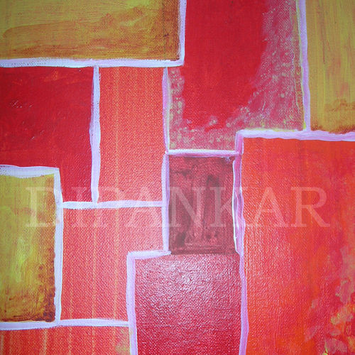 burning city, 12 x 10 inch, dipankar lahiri,12x10inch,canvas,paintings,abstract paintings,acrylic color,GAL02288338752