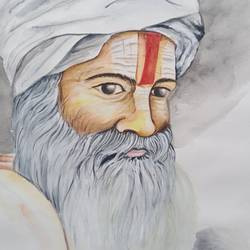 religious, 12 x 16 inch, meemansa  singh,12x16inch,cartridge paper,figurative paintings,watercolor,GAL02698538777