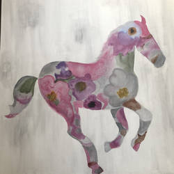 fresh horse, 36 x 36 inch, reema dsouza,36x36inch,canvas,paintings,abstract paintings,modern art paintings,horse paintings,paintings for dining room,paintings for living room,paintings for bedroom,paintings for office,paintings for hotel,paintings for school,paintings for hospital,acrylic color,GAL02735838841