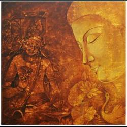 buddha, 24 x 24 inch, sanjay moosaramthota,24x24inch,canvas,paintings,buddha paintings,figurative paintings,religious paintings,paintings for living room,paintings for bedroom,paintings for office,paintings for hotel,paintings for school,paintings for hospital,paintings for living room,paintings for bedroom,paintings for office,paintings for hotel,paintings for school,paintings for hospital,acrylic color,GAL02723338847