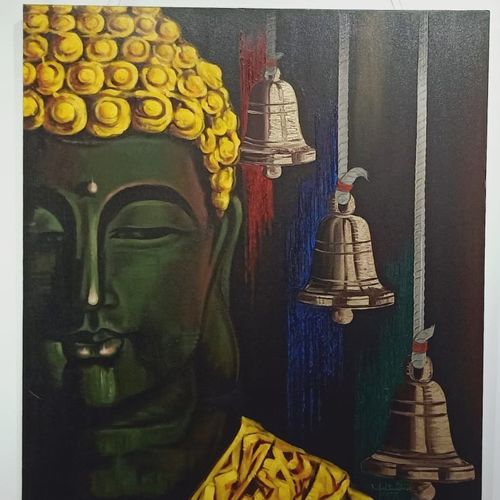 buddha, 33 x 36 inch, mahindra n,33x36inch,canvas,buddha paintings,religious paintings,paintings for dining room,paintings for living room,paintings for office,paintings for kids room,paintings for hotel,paintings for kitchen,paintings for school,paintings for hospital,paintings for dining room,paintings for living room,paintings for office,paintings for kids room,paintings for hotel,paintings for kitchen,paintings for school,paintings for hospital,acrylic color,GAL02737138864