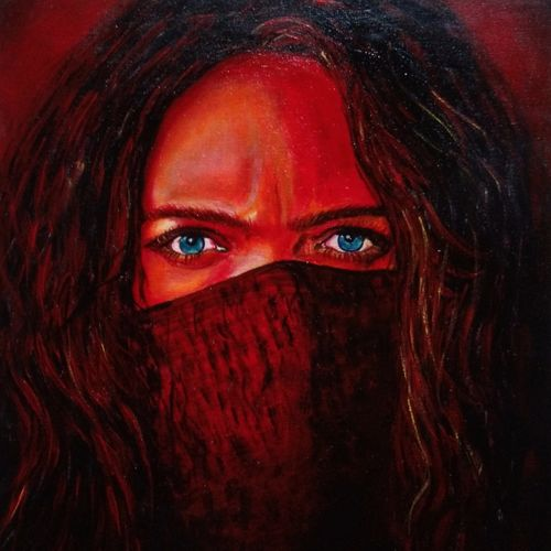 mortal engines girl, 15 x 20 inch, mehul boricha,15x20inch,canvas,paintings,abstract paintings,figurative paintings,modern art paintings,portrait paintings,expressionism paintings,photorealism,paintings for dining room,paintings for living room,paintings for office,paintings for bathroom,paintings for hotel,acrylic color,GAL02737738895