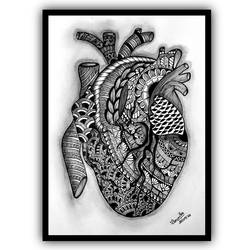heart, 8 x 12 inch, rounika das,8x12inch,drawing paper,drawings,conceptual drawings,figurative drawings,fine art drawings,illustration drawings,impressionist drawings,natural color,pen color,pencil color,ball point pen,paper,GAL02741338905
