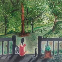 nature, 10 x 12 inch, abhishek  nandawdekar,10x12inch,canvas,paintings,landscape paintings,oil color,GAL02078138923