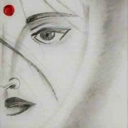 perseverance, 18 x 30 inch, anirudh shyam nawab,conceptual drawings,paintings for living room,thick paper,graphite pencil,18x30inch,GAL014213897