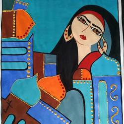 my dreams, 12 x 10 inch, rayana saha,12x10inch,drawing paper,paintings,modern art paintings,paintings for dining room,paintings for living room,paintings for bedroom,paintings for office,paintings for hotel,paintings for school,acrylic color,mixed media,GAL01304638971