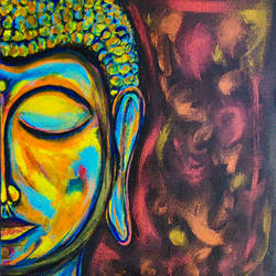 blessing buddha , 10 x 12 inch, gayathiri palanisamy,10x12inch,canvas,paintings,abstract paintings,buddha paintings,religious paintings,portrait paintings,contemporary paintings,realistic paintings,paintings for dining room,paintings for living room,paintings for bedroom,paintings for office,paintings for bathroom,paintings for kids room,paintings for hotel,paintings for kitchen,paintings for school,paintings for hospital,acrylic color,mixed media,GAL02686138977