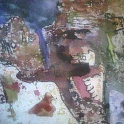 mumbai, 15 x 21 inch, kirti sharma ,abstract expressionist paintings,paintings for office,canvas,watercolor,15x21inch,GAL014053906