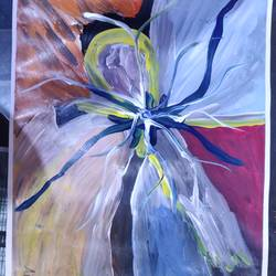 abstract 16 , 18 x 12 inch, arvind kumar gupta,18x12inch,thick paper,paintings,abstract paintings,paintings for dining room,paintings for living room,paintings for office,paintings for hotel,paintings for kitchen,paintings for school,paintings for hospital,acrylic color,paper,GAL02596639070