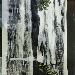 sun black and white, 18 x 12 inch, arvind kumar gupta,18x12inch,thick paper,paintings,abstract paintings,landscape paintings,modern art paintings,still life paintings,nature paintings   scenery paintings,abstract expressionism paintings,realistic paintings,paintings for dining room,paintings for living room,paintings for office,paintings for hotel,paintings for kitchen,paintings for school,paintings for hospital,acrylic color,paper,GAL02596639089
