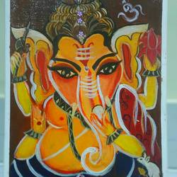 lord ganesha 2, 13 x 16 inch, saranya ghosh,13x16inch,canvas,abstract paintings,figurative paintings,modern art paintings,religious paintings,paintings for dining room,paintings for living room,paintings for bedroom,paintings for office,paintings for kids room,paintings for hotel,paintings for kitchen,paintings for hospital,paintings for dining room,paintings for living room,paintings for bedroom,paintings for office,paintings for kids room,paintings for hotel,paintings for kitchen,paintings for hospital,acrylic color,GAL02753939106