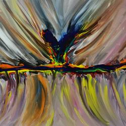 abstract 24, 24 x 18 inch, arvind kumar gupta,24x18inch,canvas,paintings,abstract paintings,modern art paintings,abstract expressionism paintings,paintings for dining room,paintings for living room,paintings for bedroom,paintings for hotel,paintings for kitchen,paintings for school,paintings for hospital,acrylic color,paper,GAL02596639110