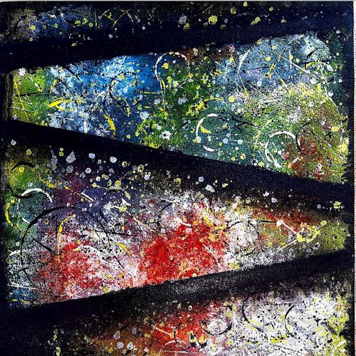 abstract painting / modern art , 12 x 18 inch, yashica sharma,12x18inch,canvas,paintings,abstract paintings,modern art paintings,paintings for dining room,paintings for living room,paintings for office,paintings for hotel,acrylic color,poster color,GAL02757839145