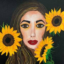 charm, 14 x 18 inch, nidhi gupta,14x18inch,canvas,paintings,portrait paintings,paintings for dining room,paintings for living room,paintings for bedroom,paintings for hotel,acrylic color,GAL02487939170