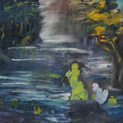 radha krishna , 36 x 15 inch, shikha gupta,36x15inch,canvas,paintings,abstract paintings,landscape paintings,modern art paintings,conceptual paintings,religious paintings,nature paintings | scenery paintings,expressionism paintings,radha krishna paintings,contemporary paintings,love paintings,paintings for dining room,paintings for living room,paintings for bedroom,paintings for office,paintings for hotel,paintings for kitchen,paintings for school,paintings for hospital,oil color,GAL02750339207