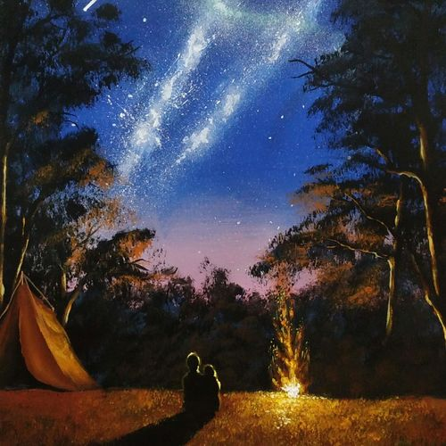 star gazing, 10 x 16 inch, pratik tambe,10x16inch,handmade paper,paintings,landscape paintings,nature paintings | scenery paintings,paintings for dining room,paintings for living room,paintings for bedroom,paintings for bathroom,paintings for kids room,paintings for hotel,paintings for kitchen,paintings for dining room,paintings for living room,paintings for bedroom,paintings for bathroom,paintings for kids room,paintings for hotel,paintings for kitchen,acrylic color,GAL02770239260