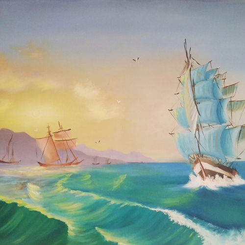 sunset at sea, 36 x 24 inch, pratik tambe,36x24inch,canvas board,landscape paintings,nature paintings | scenery paintings,paintings for dining room,paintings for living room,paintings for bedroom,paintings for office,paintings for kids room,paintings for hotel,paintings for kitchen,paintings for school,paintings for dining room,paintings for living room,paintings for bedroom,paintings for office,paintings for kids room,paintings for hotel,paintings for kitchen,paintings for school,oil color,GAL02770239267