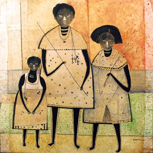 family togetherness , 36 x 36 inch, e art  gallery,36x36inch,canvas,paintings,figurative paintings,folk art paintings,modern art paintings,love paintings,children paintings,kids paintings,paintings for dining room,paintings for living room,paintings for bedroom,paintings for kids room,paintings for dining room,paintings for living room,paintings for bedroom,paintings for kids room,mixed media,GAL02768239313