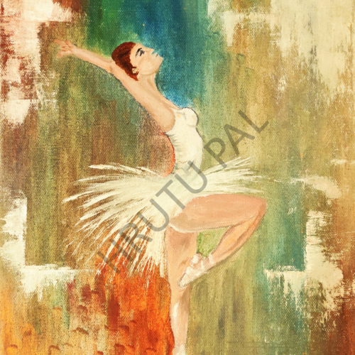 ballet dance, 10 x 12 inch, hrutu pal,10x12inch,canvas board,paintings,abstract paintings,figurative paintings,modern art paintings,conceptual paintings,portrait paintings,abstract expressionism paintings,expressionism paintings,illustration paintings,impressionist paintings,portraiture,realism paintings,contemporary paintings,realistic paintings,love paintings,paintings for dining room,paintings for living room,paintings for bedroom,paintings for office,paintings for bathroom,paintings for kids room,paintings for hotel,paintings for school,oil color,GAL02779739392