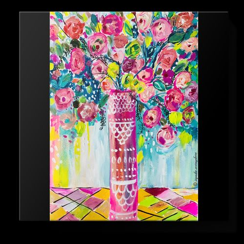 vibrant flora, 12 x 16 inch, ityesha mehta,12x16inch,drawing paper,paintings,abstract paintings,flower paintings,modern art paintings,abstract expressionism paintings,illustration paintings,pop art paintings,paintings for dining room,paintings for living room,paintings for bedroom,paintings for office,paintings for bathroom,paintings for kids room,paintings for hotel,paintings for school,acrylic color,paper,GAL02789039450