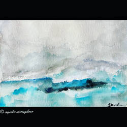 waves, 8 x 12 inch, ityesha mehta,8x12inch,brustro watercolor paper,paintings,landscape paintings,nature paintings | scenery paintings,abstract expressionism paintings,photorealism paintings,photorealism,paintings for dining room,paintings for living room,paintings for bedroom,paintings for office,paintings for bathroom,paintings for kids room,paintings for hotel,paintings for kitchen,watercolor,GAL02789039471