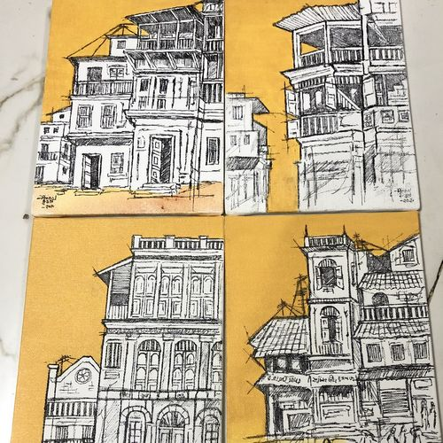 ahmedabad heritage city , 8 x 6 inch, mrinal  dutt,8x6inch,canvas,paintings,cityscape paintings,paintings for dining room,paintings for living room,paintings for bedroom,paintings for office,paintings for bathroom,paintings for kids room,paintings for hotel,paintings for kitchen,paintings for school,paintings for hospital,acrylic color,charcoal,ink color,mixed media,GAL01311739478
