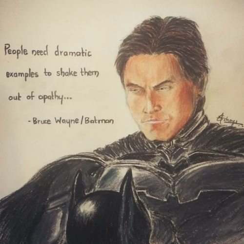 batman begins, 8 x 12 inch, sanjith acharya,8x12inch,canvas,paintings,figurative paintings,conceptual paintings,paintings for bedroom,paintings for kids room,pastel color,pencil color,ball point pen,paper,GAL02782039492