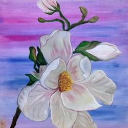 spring flowers, 20 x 20 inch, hrutu pal,20x20inch,canvas,paintings,nature paintings | scenery paintings,portraiture,realism paintings,paintings for dining room,paintings for living room,paintings for bedroom,paintings for office,paintings for bathroom,paintings for kids room,paintings for hotel,paintings for kitchen,paintings for school,paintings for hospital,acrylic color,oil color,GAL02779739494