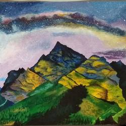 night sky, 24 x 36 inch, smita chatterjee,24x36inch,canvas,paintings,abstract paintings,landscape paintings,nature paintings | scenery paintings,art deco paintings,surrealism paintings,paintings for living room,paintings for bedroom,paintings for office,paintings for kids room,paintings for hotel,paintings for school,paintings for hospital,paintings for living room,paintings for bedroom,paintings for office,paintings for kids room,paintings for hotel,paintings for school,paintings for hospital,acrylic color,GAL0985639503