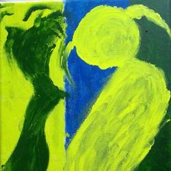 creating a new life, 10 x 10 inch, sandeep kumar,10x10inch,canvas board,paintings,abstract paintings,paintings for bedroom,acrylic color,GAL02031439586