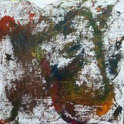 caterpillar, 10 x 10 inch, sandeep kumar,10x10inch,canvas board,paintings,abstract paintings,paintings for living room,acrylic color,GAL02031439587