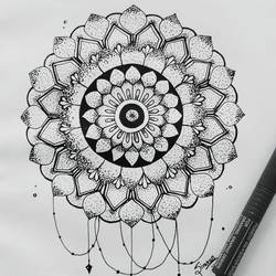 mandala art, 7 x 7 inch, simran solkar,7x7inch,thick paper,drawings,paintings for bedroom,paintings for office,paintings for kids room,illustration drawings,paintings for bedroom,paintings for office,paintings for kids room,pen color,GAL02750639608